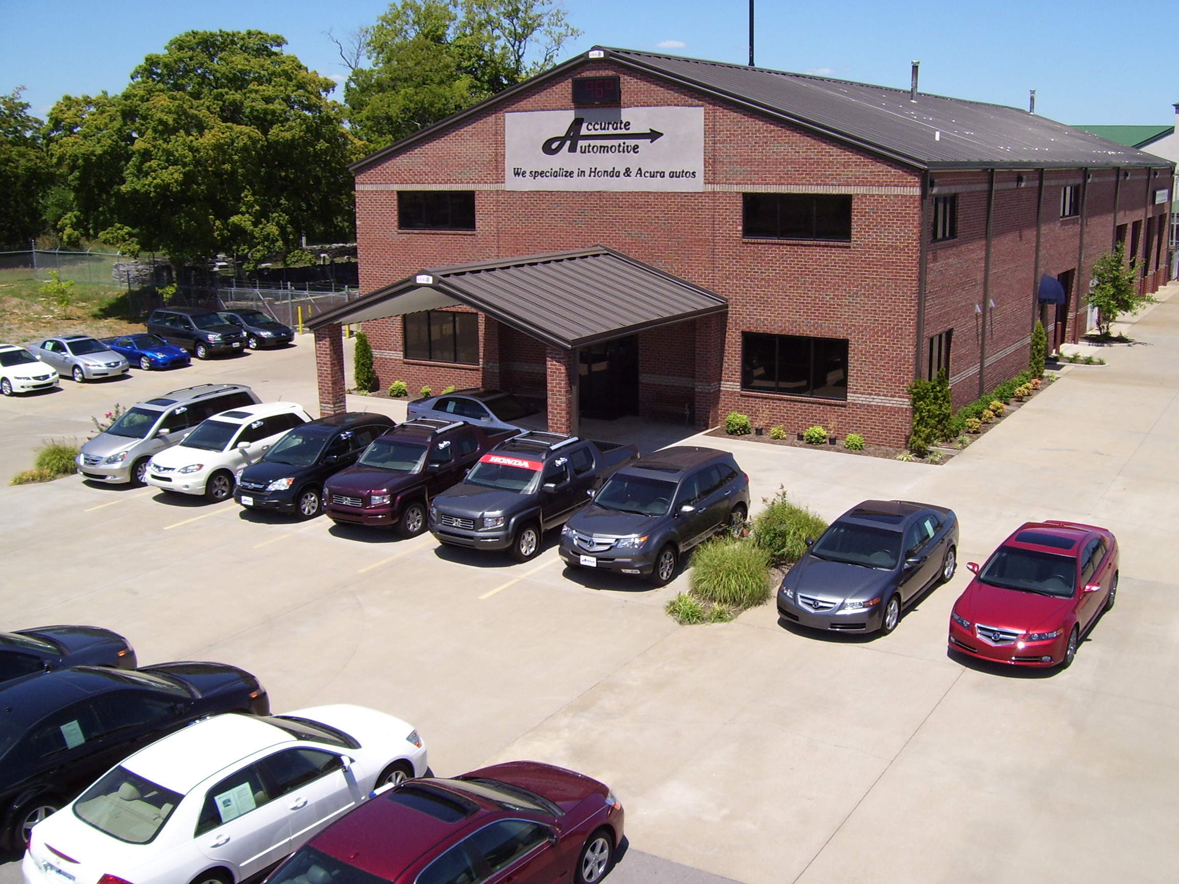Accurate automotive the shop for nashville acura car for Honda of cool springs