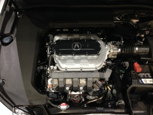 Acura TL V6 engine uses an Acura timing belt