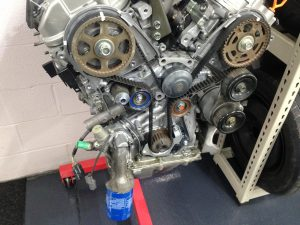 Honda V6 Engine Timing Belt and Front Plate Assembly