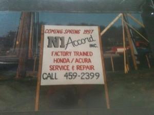 Accurate Car Repair Nashville Dealership Original Sign